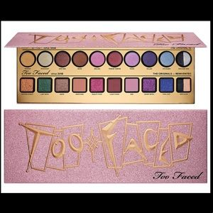 Brand New Too Faced Then and Now Shadow Palette